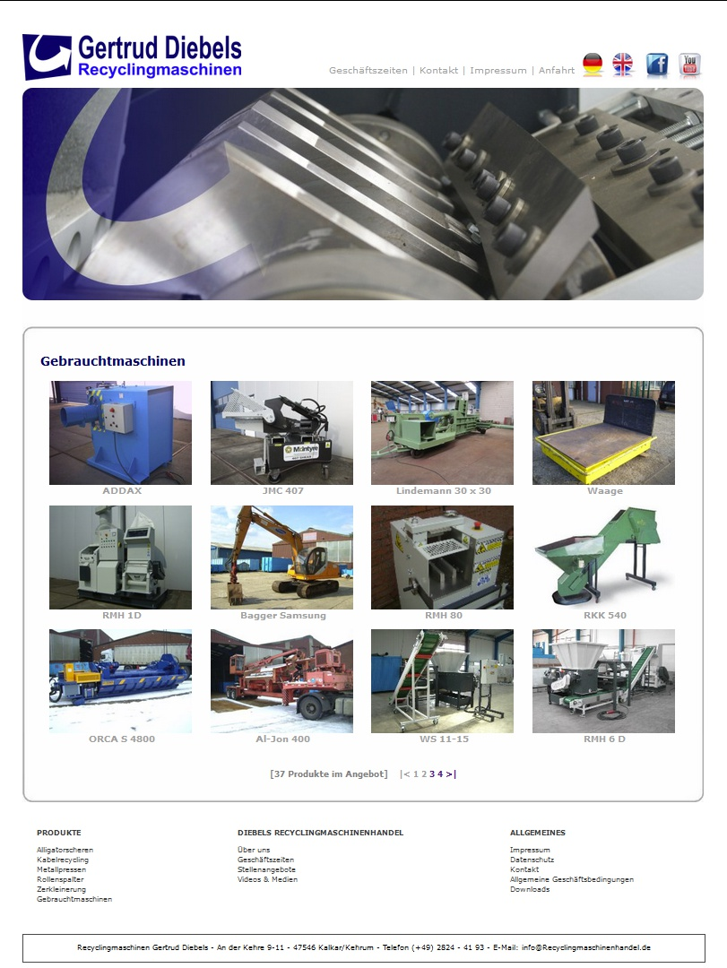 www.recyclingmaschinenhandel.de
